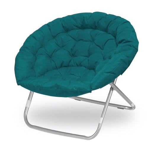 Oversized Saucer Chair. Dorm room ideas. Going to college gift ideas.