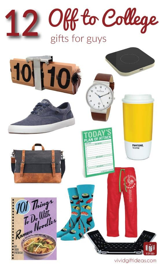 Off to college gift ideas for boys