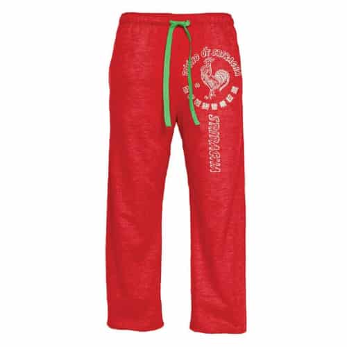 Sriracha Pajama Pants- Off to college gift ideas for boys.