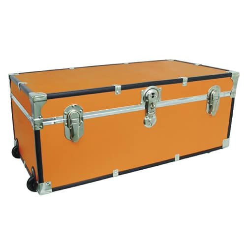 College Storage Trunk. Dorm room essentials. Going to college gift ideas for guys.