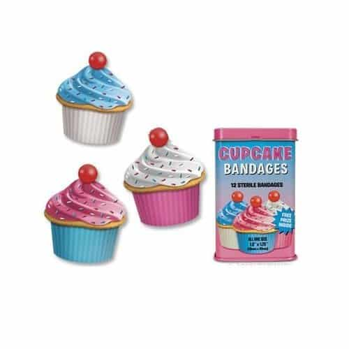 Cupcake Bandages. School Supplies for Girls.