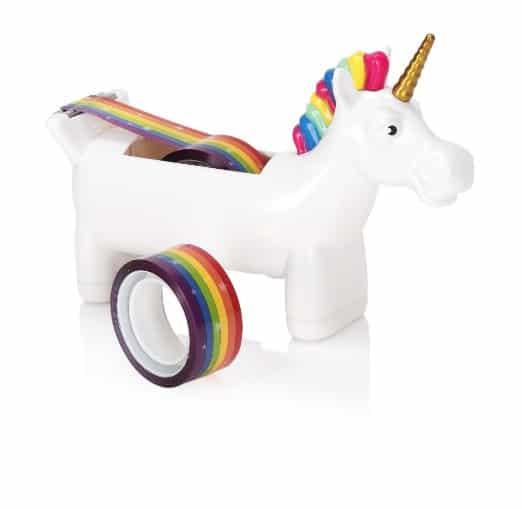 Unicorn Tape Dispenser - School Supplies for Girls