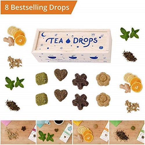 Tea Drops Assortment Sampler Bo
