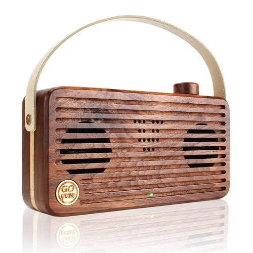 GOgroove Hand Crafted Bluetooth Speaker | Off To College Gift Ideas For Boyfriend