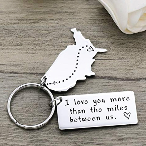 Long Distance Relationship Keychain
