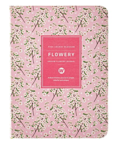 Ardium Flowery Cherry Blossom Planner (School Supplies for Girls)
