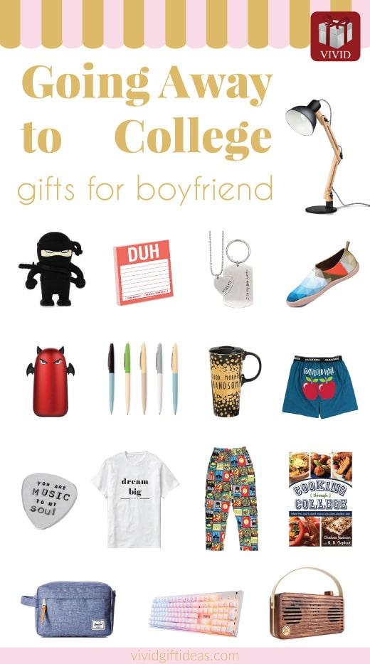 Going to college gifts for boyfriend | Going away gifts for boyfriend college