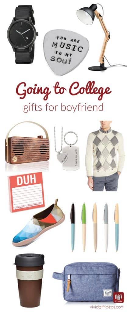 Going to college gifts for boyfriend