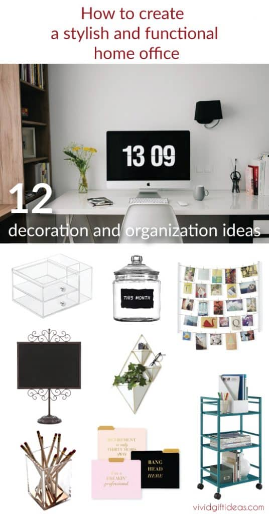home office ideas. decor and organization.