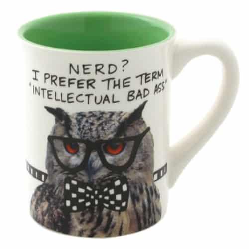 Lorrie Veasey Nerd Owl Mug