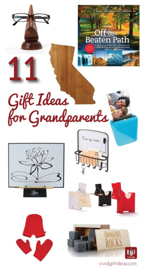 Grandparents Day gift ideas for grandparents
