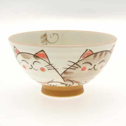 Japanese Cat Pattern Bowl