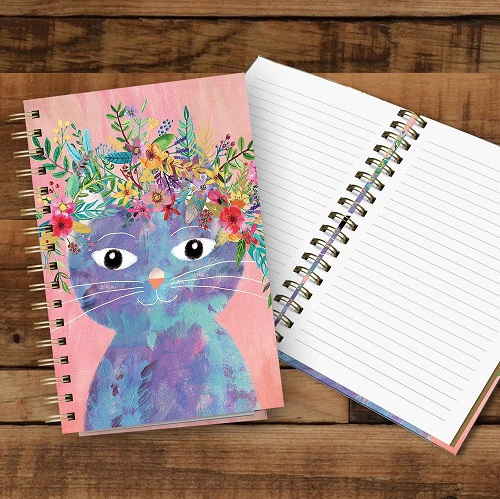 Studio Oh! Fancy CatHardcover Notebook