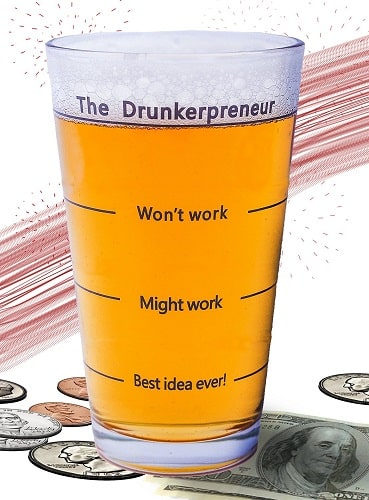 The DrunkerPreneur Beer Glass