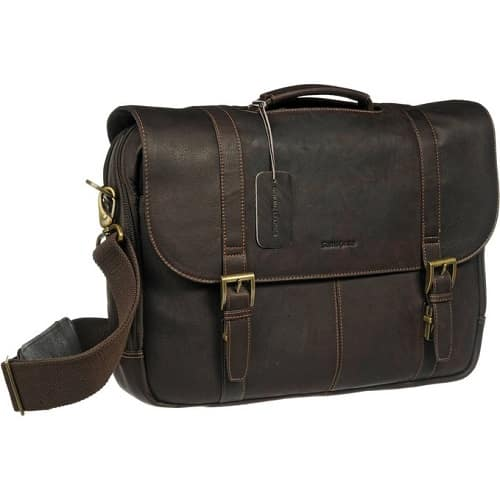 Samsonite Flap-Over Laptop Messenger Bag