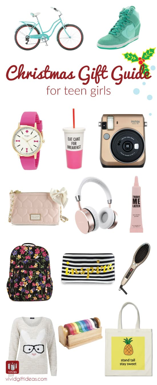 Holiday Gift Guide: What to Get for Teen Girls - Vivid's