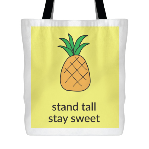 The Pineapple Tote Bag
