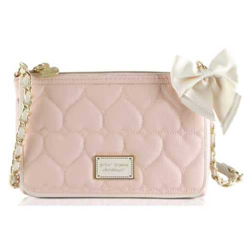 Betsey Johnson Be Mine East West Crossbody Purse