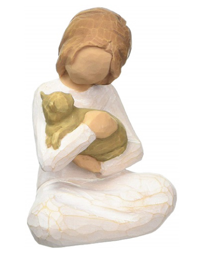 Willow Tree Cat Lover Figurine