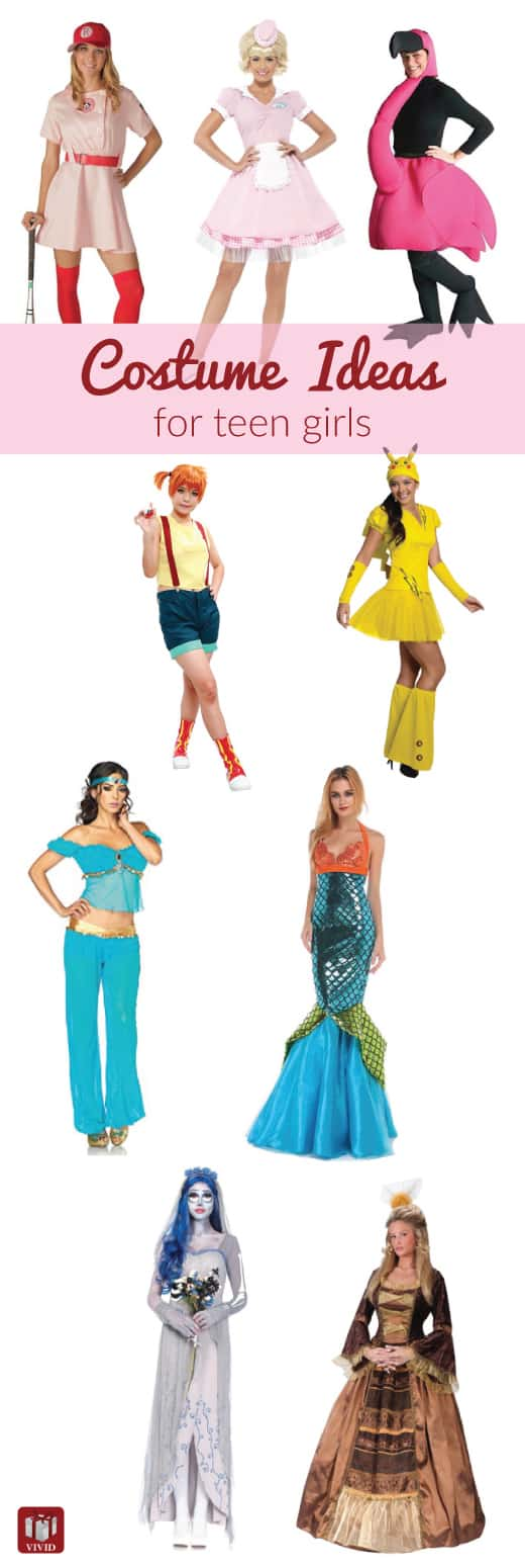 Halloween Costumes Ideas for Teen Girls