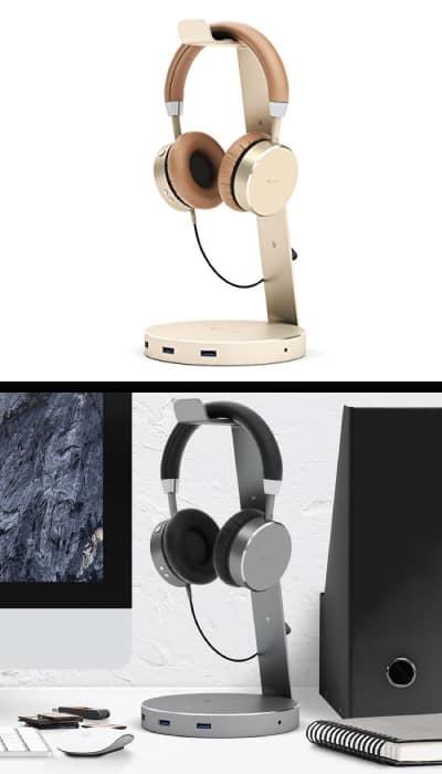 Satechi Aluminum USB Headphone Stand