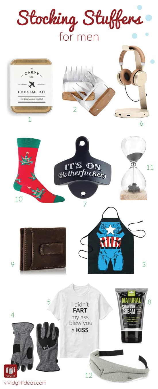 Christmas stocking stuffers for men