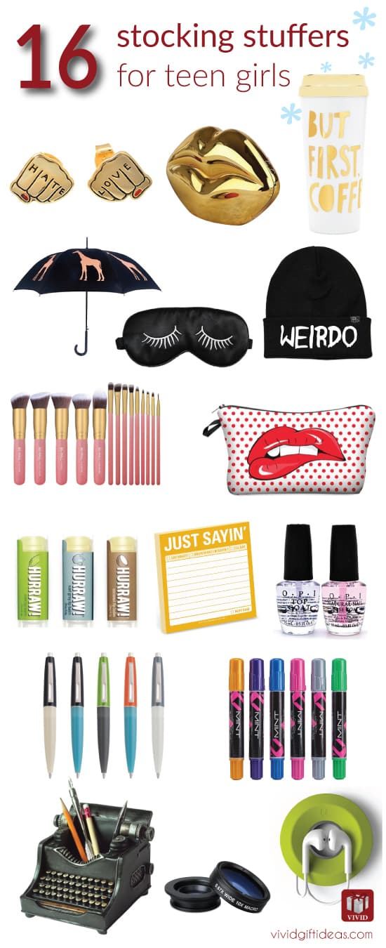 Stocking stuffer ideas for teenage girls vivid s gift