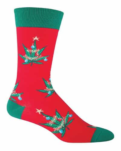 Pot Lovers Xmas Crew Socks