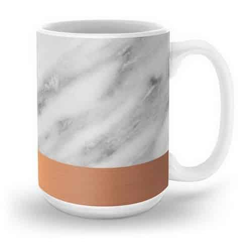 Carrara Italian Marble Mug
