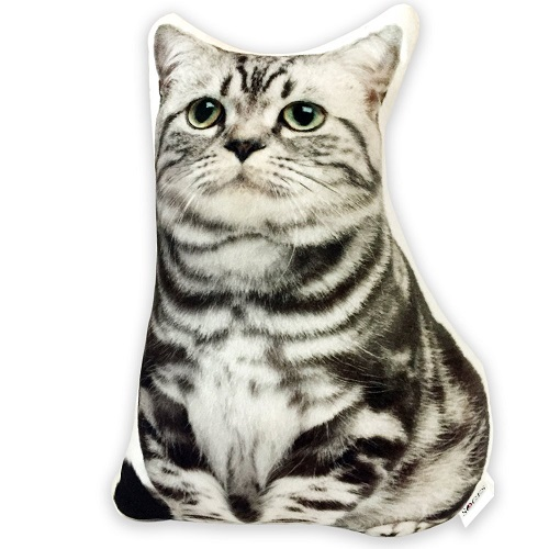 Cat Shaped Decorative Pillow Plush
