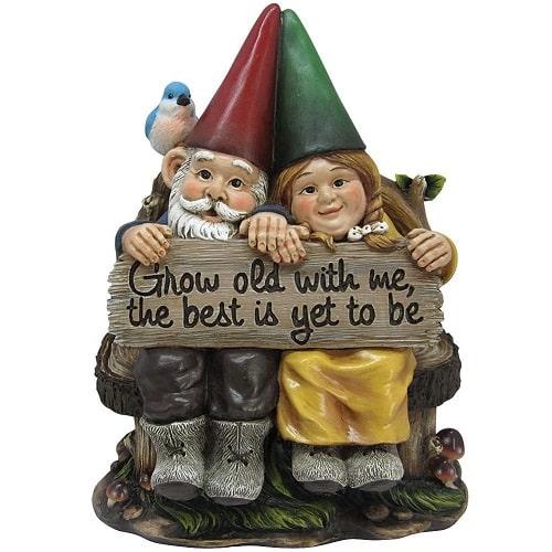 Mr and Mrs Gnome Figurine