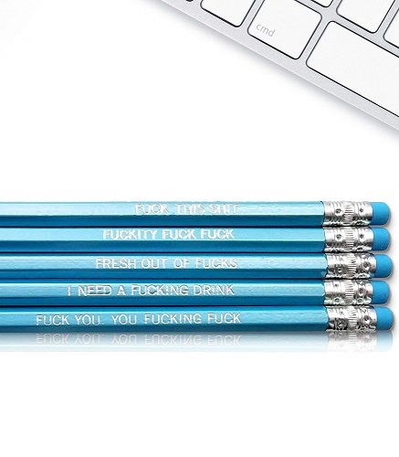 Swear Word Pencils