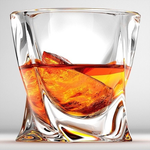 Twist Whiskey Glasses