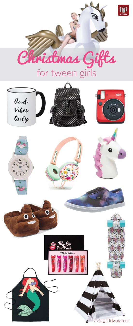 Christmas holiday guide shopping for tween girls vivid