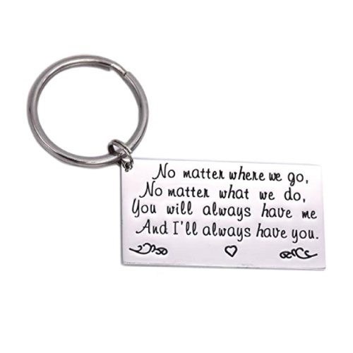 Long Distance Quote Keychain