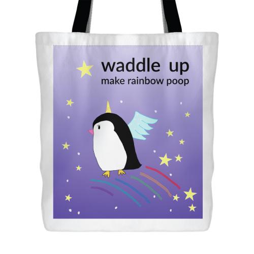 Magical Unicorn Penguin Bag