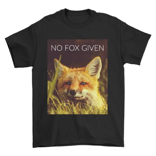 No Fox Given T-Shirt (Christmas gifts for teen boys)