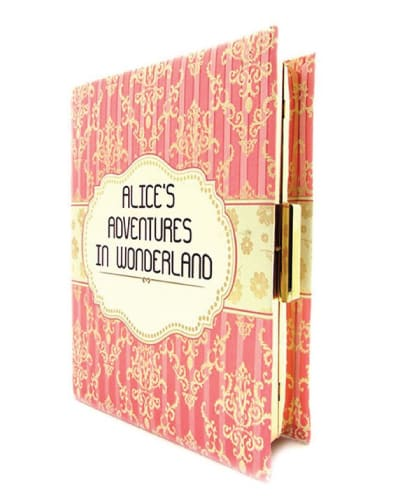 Alice in the Wonderland Book Clutch