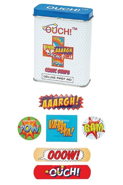 OUCH! Comic Strips Plasters
