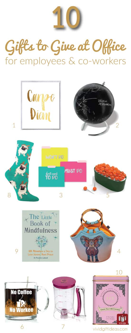 top 10 christmas gifts for office staff and coworkers