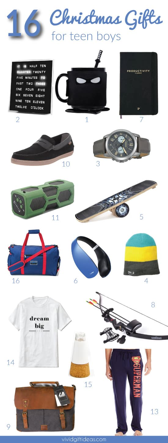 Christmas Toys For Teenage Boys : Coolest christmas gifts you can get for teen boys