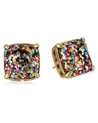 kate spade new york Multi Glitter Stud Earrings