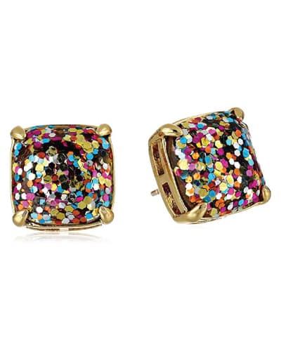 kate spade new york Multi Glitter Stud Earrings