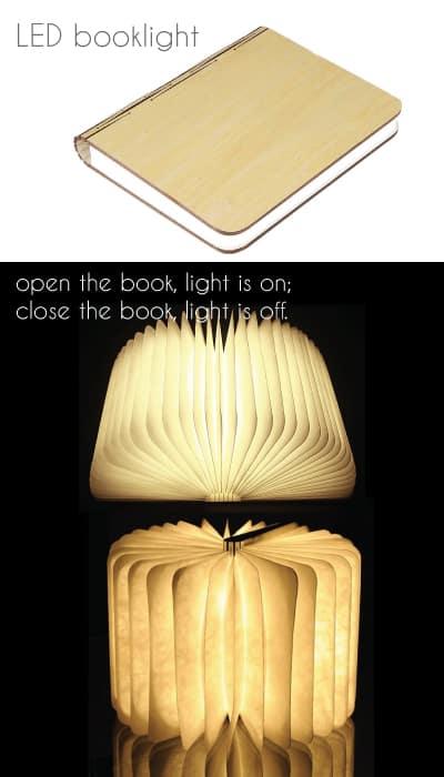 Folding LED Booklight