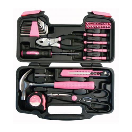 Pink General Tool Set