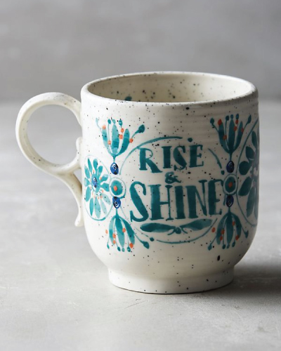 Sweetly Stated Mug - Rise and Shine