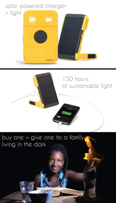WakaWaka Solar-Powered Flashlight + Charger