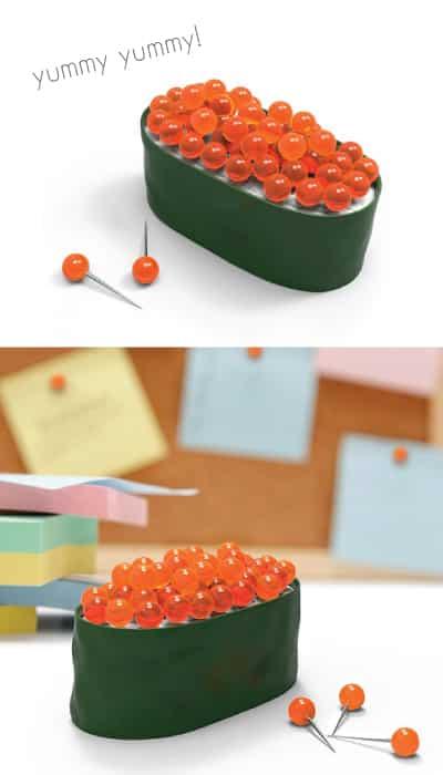 Fred & Friends Sushi Pushpins