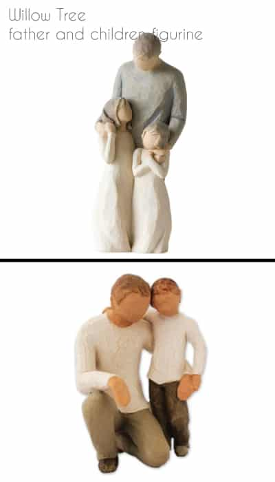 Willow Tree Father and Children Figurine