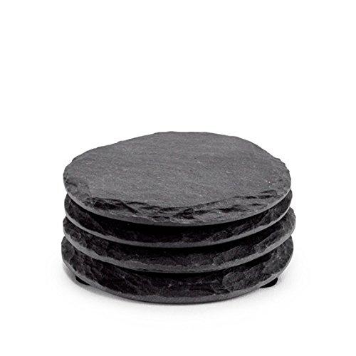 Black Slate Coasters